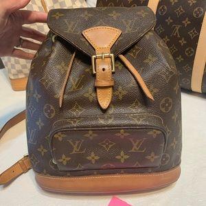 Louis Vuitton Montesouris MM backpack bag